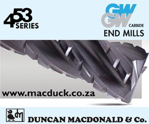 453  Series GW Carbide End Mills