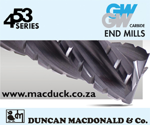 453  Series GW Carbide End Mills